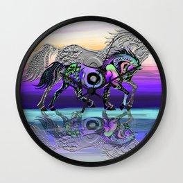 Spirit Horse Wall Clock