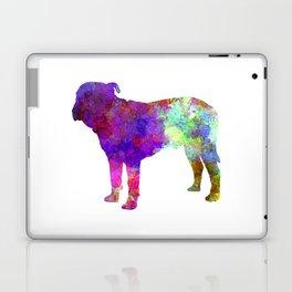 Majorca Mastiff in watercolor Laptop & iPad Skin