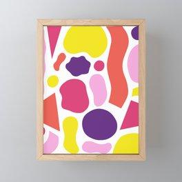Pattern Play Framed Mini Art Print