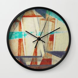 Stilt House 4 Wall Clock