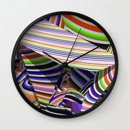 Illusions Wall Clock