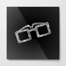 Fashion sunglasses Metal Print