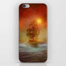 The lights (colour option) iPhone Skin