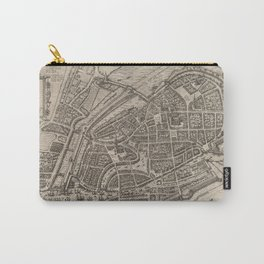 Vintage Map of Hamburg Germany (1588) Carry-All Pouch