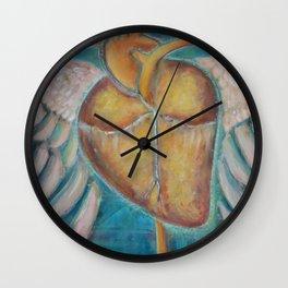 """""""Building Wings"""" Wall Clock"""