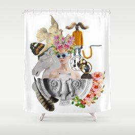 Dreams by Lenka Laskoradova Shower Curtain