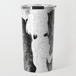 Ink Splatter Travel Mug