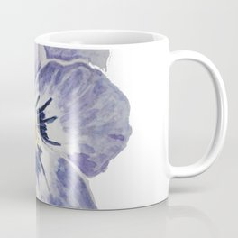 Purple Pansy Coffee Mug