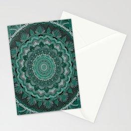 mandala-macrame 3D effect-soft colors-sweet-nursery art- hand painted Stationery Cards