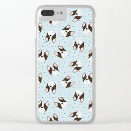 Awww Puppies Clear iPhone Case