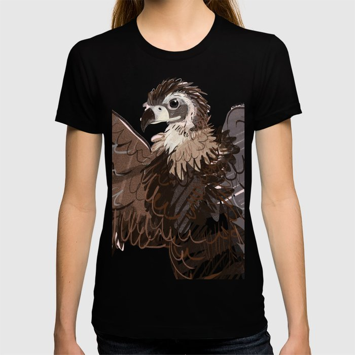 Cinereous vulture (GREFA) T-shirt