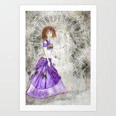 Belly Dancer Spiritual Awakening Art Print