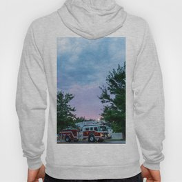 City of Thomson Georgia Firetruck Sunset Hoody