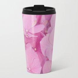 Light-Pink Hydrangeas #1 #decor #art #society6 Travel Mug
