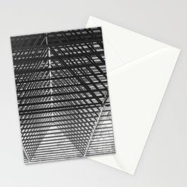 Steal triangular structure of the roof of a turkish bazaar Stationery Cards