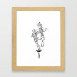 Fox Hole  Framed Art Print