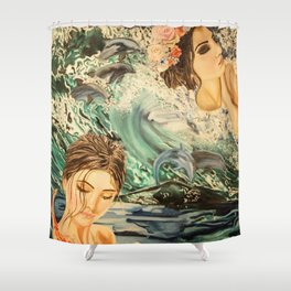 Glorious Transition Shower Curtain