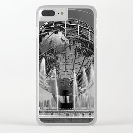 A Dramatic Summer Afternoon in Queens Clear iPhone Case