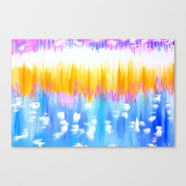 abstract pastels Canvas Print