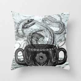 Cup of Creation Throw Pillow