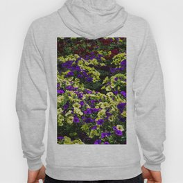 Waves of Petunias Hoody
