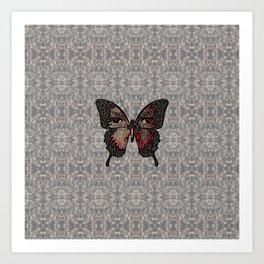 Butterfly Variation 05 Art Print