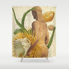 Physique Botanique Shower Curtain