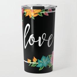 Floral Love I. Travel Mug