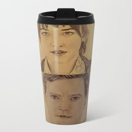 Christian and Ana elevator 1/2 - FIFTY SHADES OF GREY Travel Mug