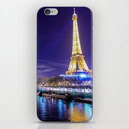 Paris Nights iPhone Skin