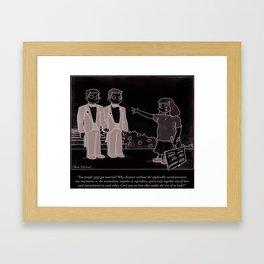 Gay Marriage Framed Art Print