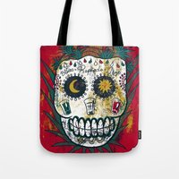 tequila Tote Bags featuring Tequila by Jorge Garza