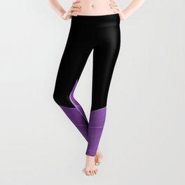 Purple Agave #1 #tropical #decor #art #society6 Leggings