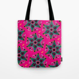 pop pattern_christmas Tote Bag