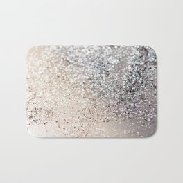 Sparkling GOLD Lady Glitter #6 #decor #art #society6 Bath Mat
