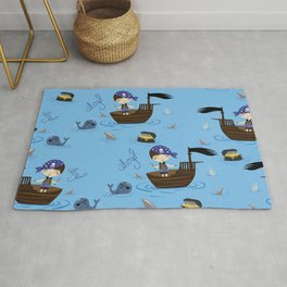 Pirate Story Rug