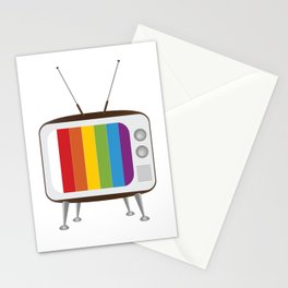Vintage TV Stationery Cards
