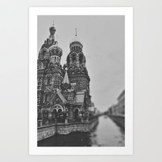 St Petersburg Art Print