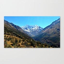 Salkantay Mountain Canvas Print