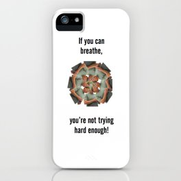 Rowing Coach iPhone Case