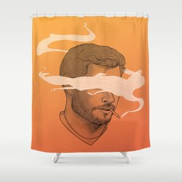 Smokin' Jay Shower Curtain