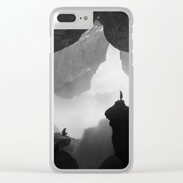 Parallel Isolation Clear iPhone Case