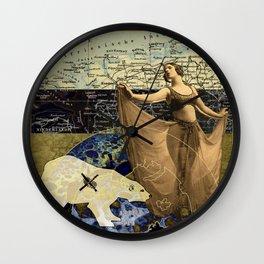 Arctic Operations Wall Clock