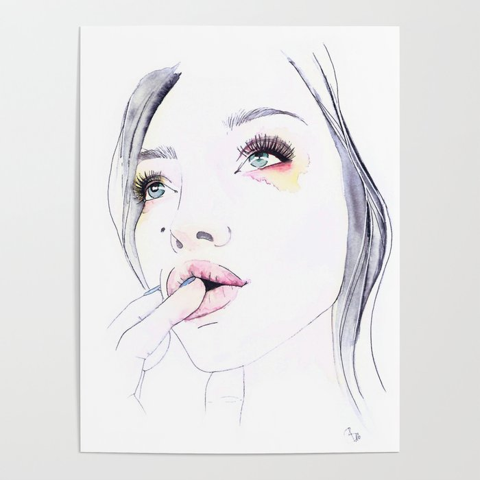 Ivy Levan | Watercolor Beauty Poster