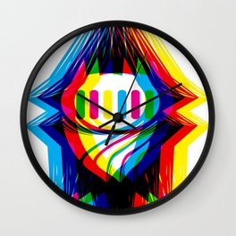 Retro Vision - Nameless Ghost Wall Clock