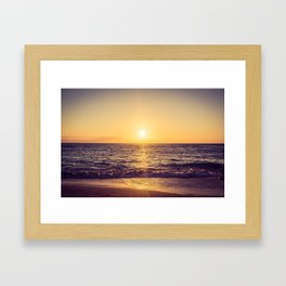 Endless Waves Framed Art Print