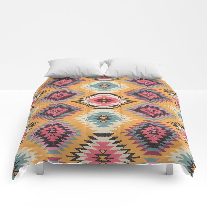 Navajo dreams comforters by bohemiangypsyjane society6 for Dream home season 6