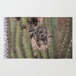 owl thought Rug