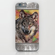 Portrait of a Gray Wolf Slim Case iPhone 6s