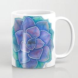 Purple Succulent Plant Coffee Mug